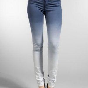 J Brand Ombre Low Rise Pencil Leg Jeans Size 28